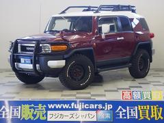 FJクルーザー4WD 外HDDナビ グリルガード ETC バックカメラ