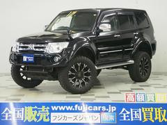 パジェロスーパーエクシード 4WD Wモニター ボディリフト DT
