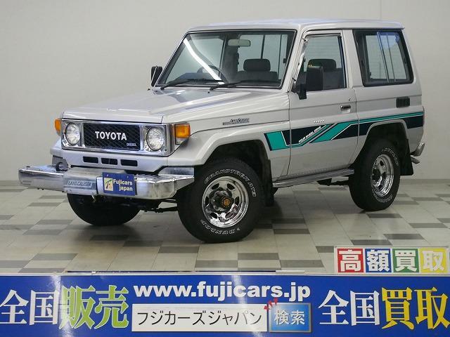 トヨタ 3.4LX 4WD 5MT ディーゼル 機械式ウィンチ