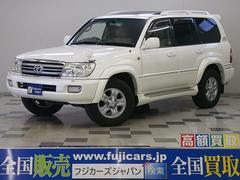 ランドクルーザー100VX−LTD Gセレクション 4WD HDDナビ 本革 SR