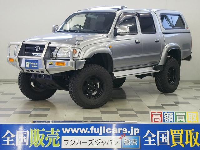 トヨタ ダブルキャブ 4WD リフトアップ ARBキャノピー SR