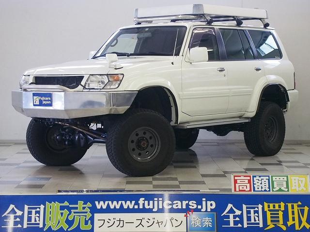 日産 グランロード 4WD ワンオーナー リフトアップ 8ナンバー