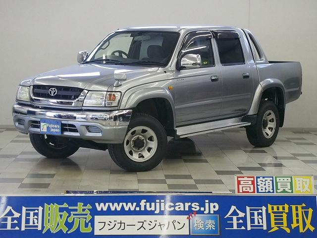 トヨタ ダブルキャブ 4WD HDDナビ ETC 荷台チッピング塗装