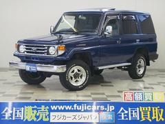 ランドクルーザー70LX 4WD HDDナビ サンルーフ ディーゼル 4ナンバー