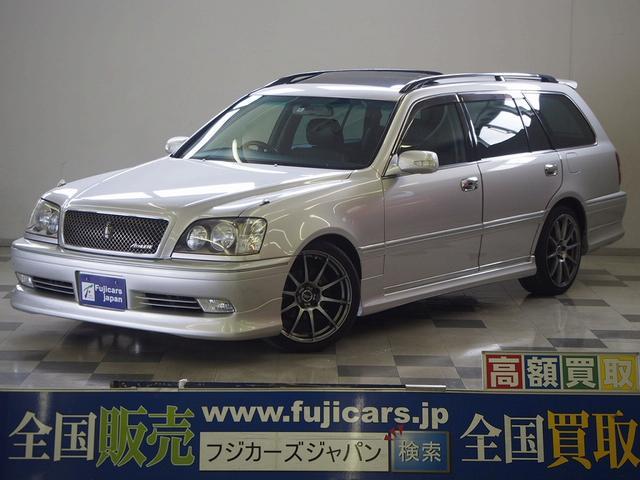 トヨタ アスリートG OPサンルーフ OP本革 ローダウン 後期型