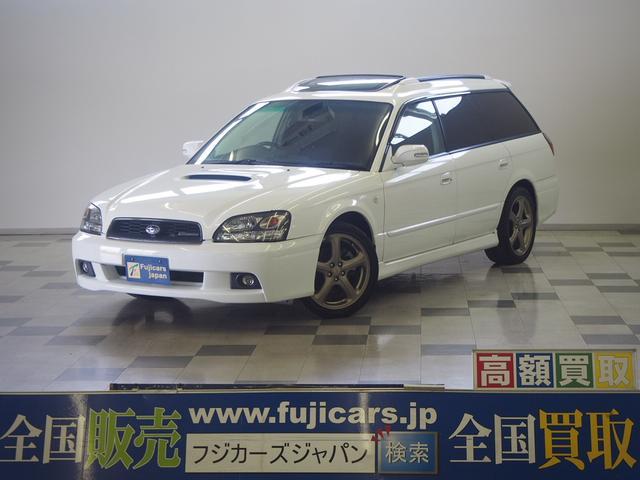 スバル GT-B E-tuneII サンルーフ アルパインナビ