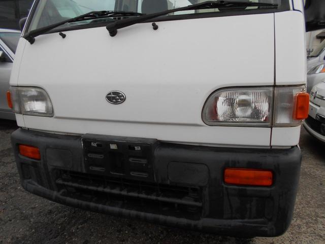 スバル STDスペシャル 4WD 三方開き エアコン付き
