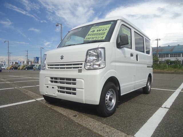 スズキ PAリミテッド 4WD ハイルーフ セーフティ 4WD/ハイルーフ/セーフティサポート/オートライト/オートハイビーム/ABS/Wエアバッグ/