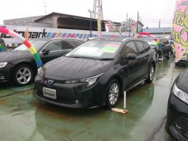 トヨタ ハイブリッド S 9インチナビ トヨタセーフティセンス