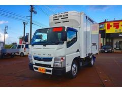 キャンター2t 全低床 標準 低温冷凍車 東プレ −22度確認
