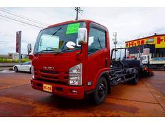 エルフトラック3.4t 高床 ワイド超ロング キャリアカー 車載