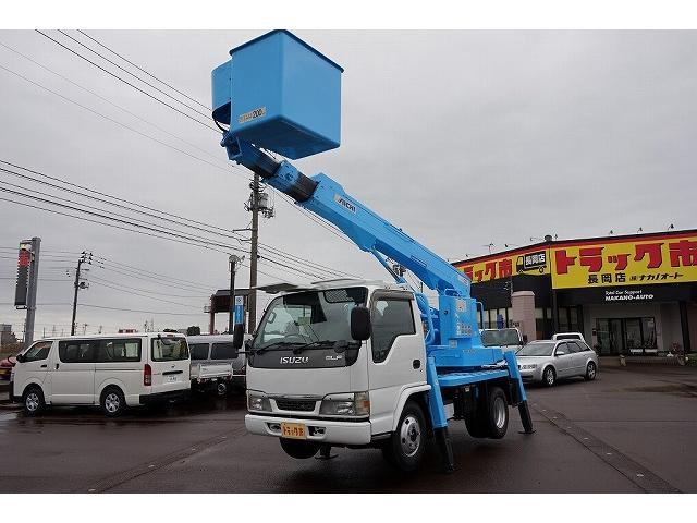 いすゞ エルフトラック 高床 標準 12M 高所作業車