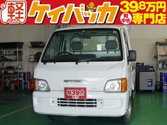 サンバートラックTC 4WD 5速マニュアル エアコン エアバッグ