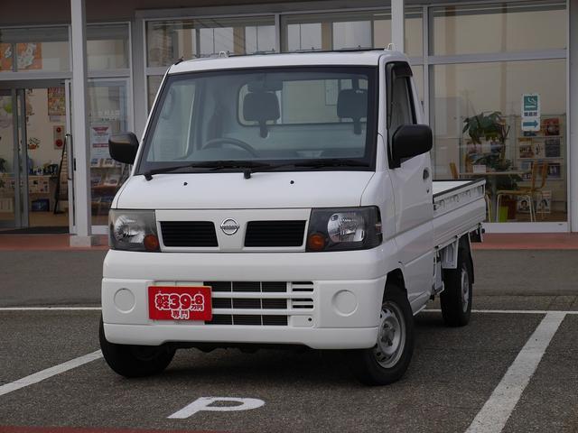 日産 DX 4WD 5MT ラジオ エアバッグ パワステ