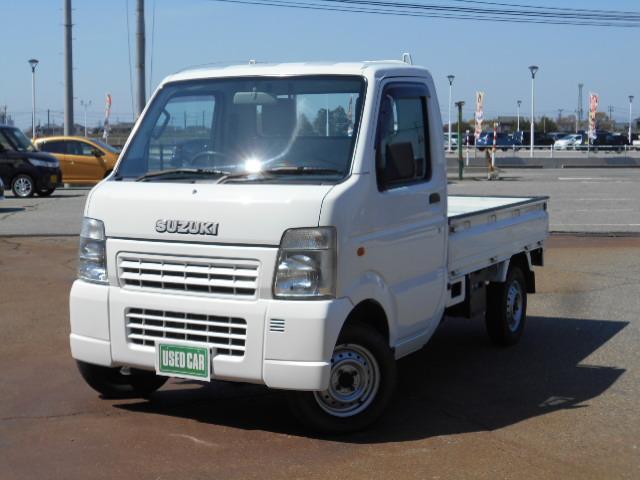 スズキ キャリイトラック KCエアコン・パワステ 660KCエアコン・パワステ3方開 4WD