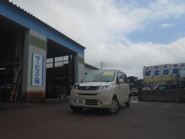 ホンダ G 4WD 禁煙 Bカメラ付CDステレオ 中古ST付