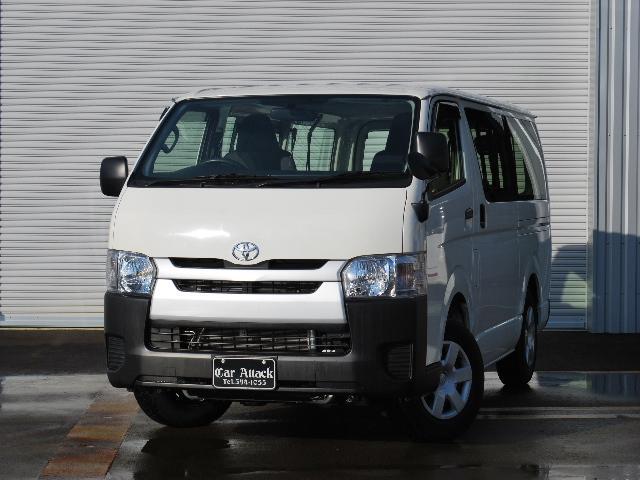 トヨタ ロングDX 4ドア 4WD 社外ナビTV ETC 9人乗り