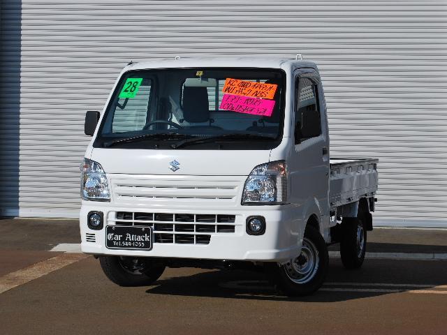 スズキ KCエアコン・パワステ 4WD 5速AGS