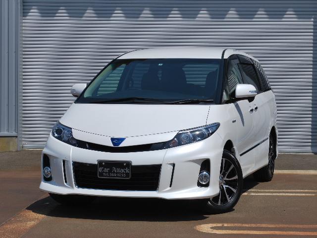 トヨタ アエラス プレミアムエディション 4WD 純正8インチナビ