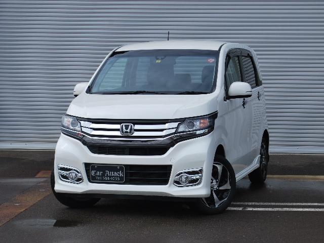 ホンダ G・ターボパッケージ 4WD 社外ナビTV 新品夏タイヤ