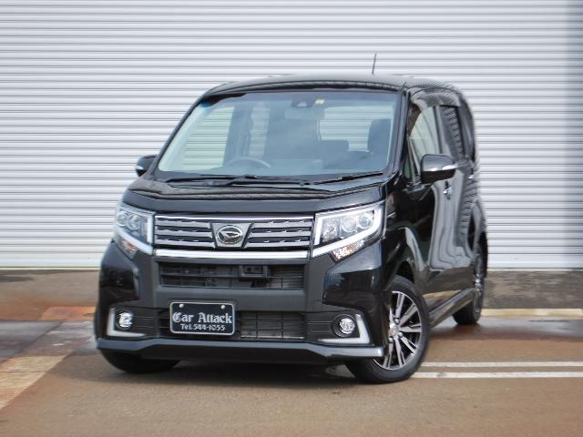 ダイハツ カスタム X ハイパーSAII 4WD 社外ナビTV