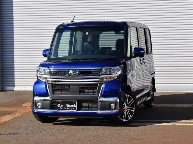 ダイハツ カスタムRS トップエディションSAIII 4WD 純正ナビ