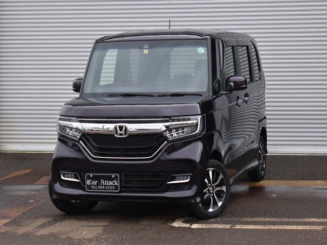 ホンダ N-BOXカスタム G・EXホンダセンシング 4WD 純正メモリーナビTV バックカメラ ワンオーナー車