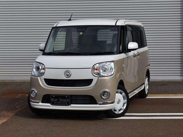 ダイハツ Gメイクアップリミテッド SAIII 4WD 社外ナビTV パノラマモニター ワンオーナー車