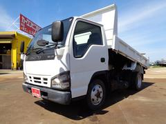 エルフトラック強化ダンプ 4WD 積載2トン 全低床