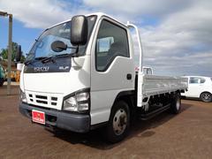 エルフトラック平 4WD 積載2t 標準ロング らくらくゲート 全低床