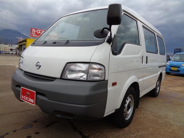 日産 DX 積載950KG 4WD 5ドア ガソリン車