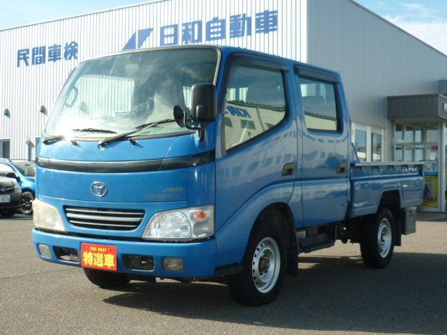 トヨタ WキャブロングSJロー 5MT 4WD 6人 積載1.2t