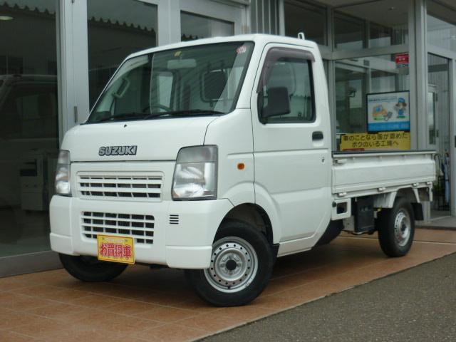 スズキ KCエアコン・パワステ パートタイム4WD 5MT 最大積載350kg