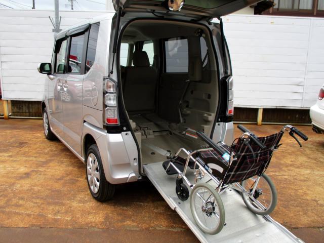 ホンダ G 4WD 車いす仕様 スローパー 電動ウィンチ SDナビTV 両側スライドドア