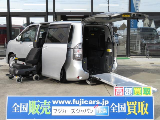 トヨタ リアスロープ セカンドリフト脱着電動式 純正HDDナビ