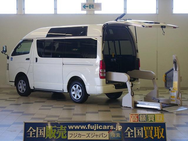 トヨタ 福祉車両ウェルキャブBタイプ4WD 電動リフト ディーゼルT