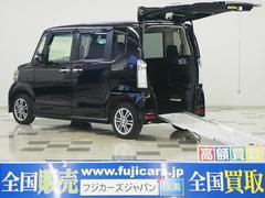 N BOX+カスタム福祉車両G車いす仕様車 メモリーナビ スロープ 電動ウィンチ