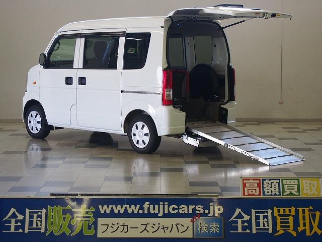 スズキ 福祉車両スローパー 4WD 電動ウィンチ 車いす電動固定装置