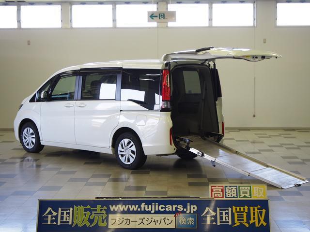 ホンダ G 4WD 車いす2基固定 両側電動 電動ウィンチ クルコン