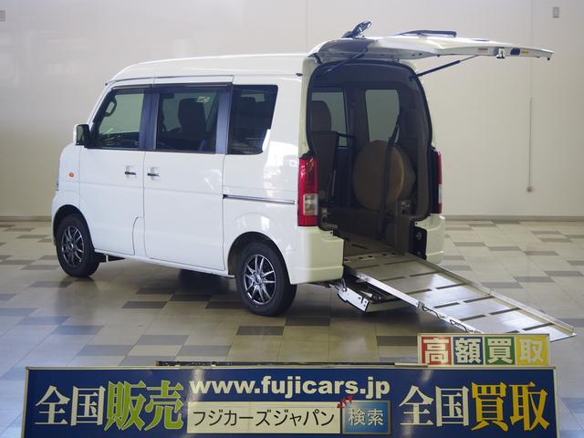 スズキ 4WD 車椅子1基固定 電動ウィンチ シートヒーター