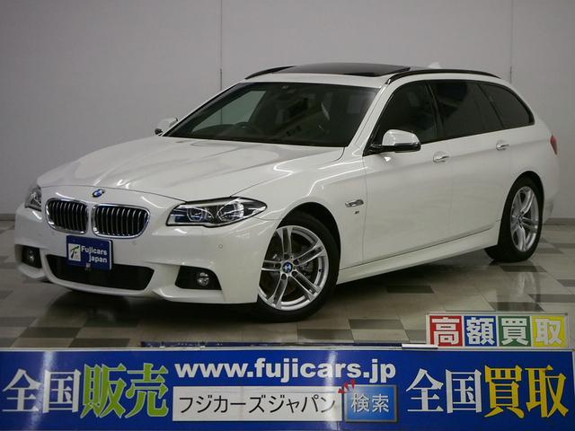 BMW 528iツーリング Mスポーツ 本革 レーダークルーズ