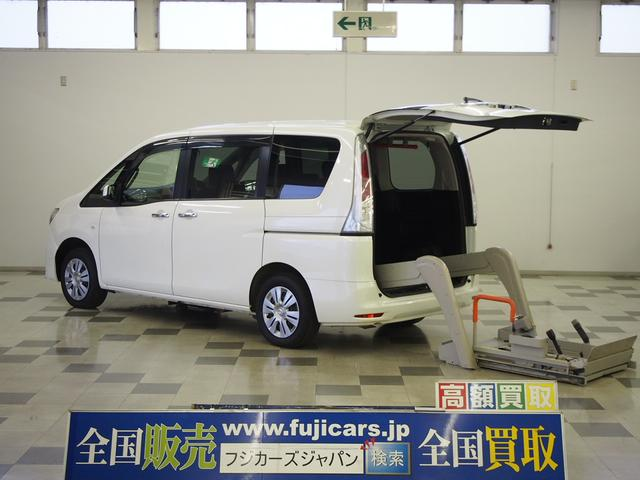 日産 福祉車輌 チェアキャブ 4WD 車椅子1基固定 電動ステップ