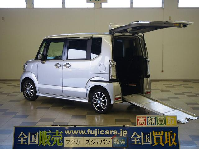 ホンダ G ターボPKG 4WD 車椅子1基 両側電動 専用ナビ
