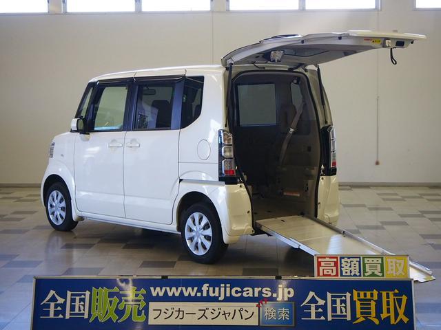 ホンダ 福祉車両 車いす一基固定 電動ウィンチ スローパー 4WD