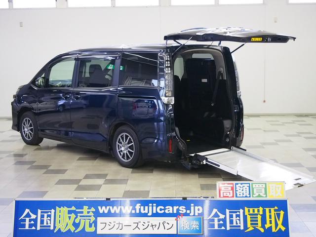 ヴォクシー(トヨタ) X 福祉車輌 スロープタイプ タイプI 車いす一脚仕様 車いす2列目固定 ニールダウン 中古車画像