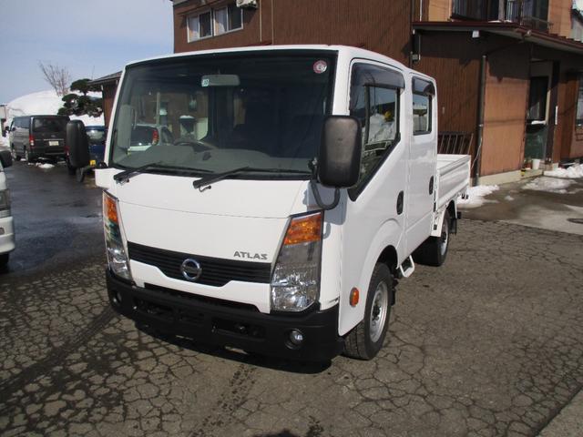 日産 アトラストラック  Wキャブ 4WD