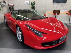 フェラーリ 458イタリアF1DCT正規D車 LEDカーボンステア