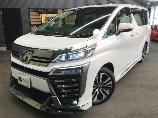 トヨタ 2.5ZーGエディサンルーフモデエアロ&マフラー3眼LED