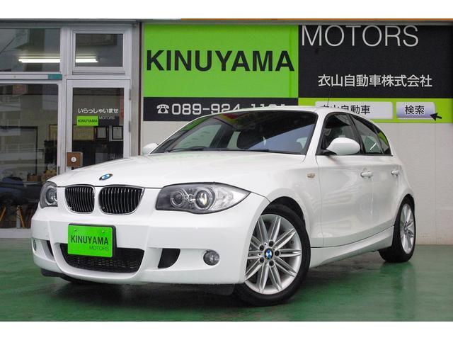 BMW 130i Mスポーツ レザーシート 純正ナビ