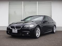 BMW523d Mスポーツ サンルーフ 19AW ソリ黒1オーナー